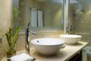 Contemporary Raised Sink Bowls in Estates of Grey Oaks