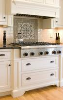 Kitchen Stovetop with Mosaic Accent